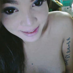 Cute Asian Trans Teases Her Rack